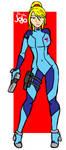 Zero Suit Samus (Metroid) by Drakevagabond
