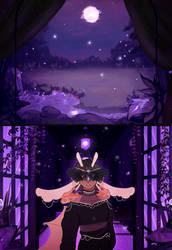enchanting - [black ball scene] by Remishu