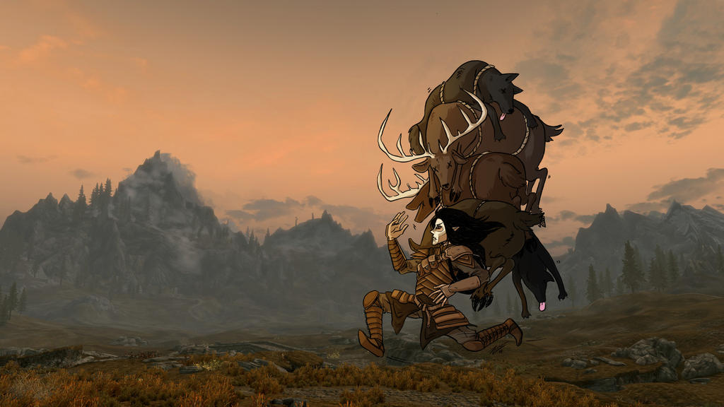 The Buffest Ranger by Capricornstudio