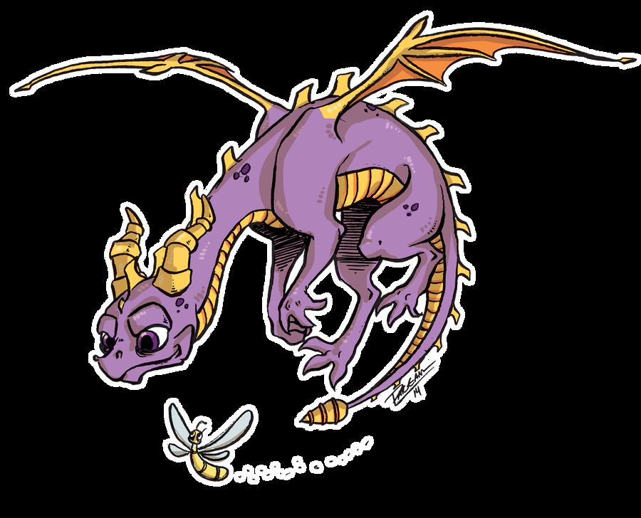 Spyro by Capricornstudio