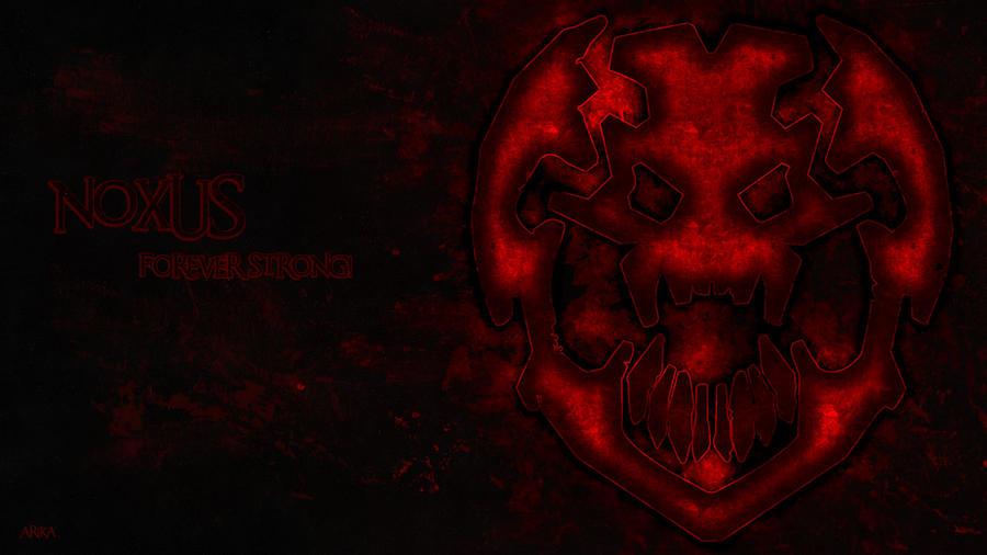 Noxus Logo Noxus wallpaper by arikalpLeague Of Legends Noxus Logo
