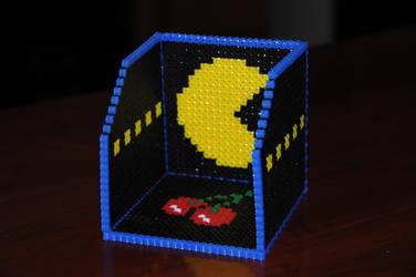 Perler Pacman Coaster Box