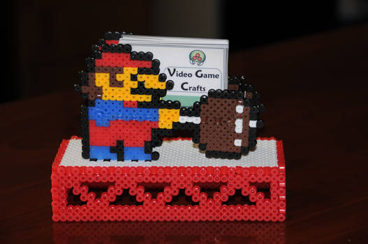 Mario Business Card Holder