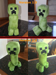 Creeper Plushies