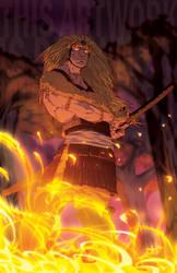A Lion's Flame