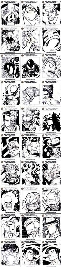 APE PostCard drawings