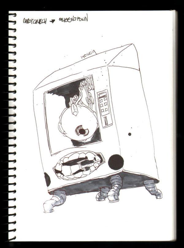 Vending machine? by theCHAMBA