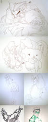 SUPANOVAday1sketches by theCHAMBA