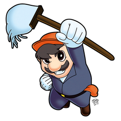 Dario the Janitor by theCHAMBA