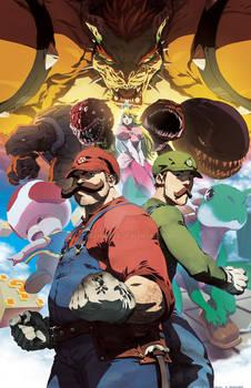 Enter the Mushroom Kingdom