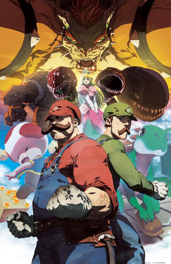 Enter the Mushroom Kingdom by theCHAMBA