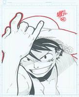 8x10 - Monkey D. Luffy