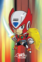 Zero from MMX, Chibi'd-Out by theCHAMBA