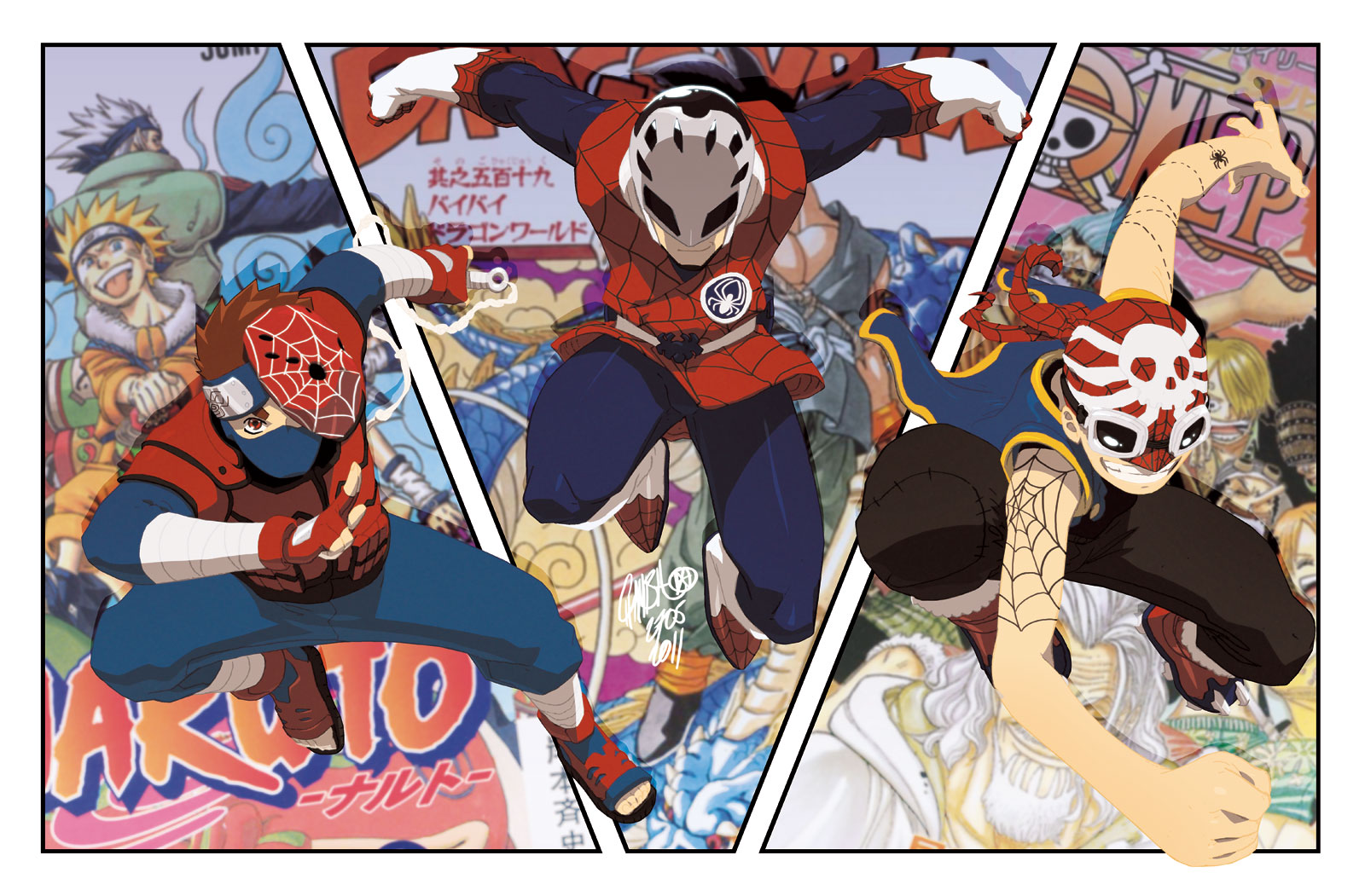 SPIDER-MANga by theCHAMBA