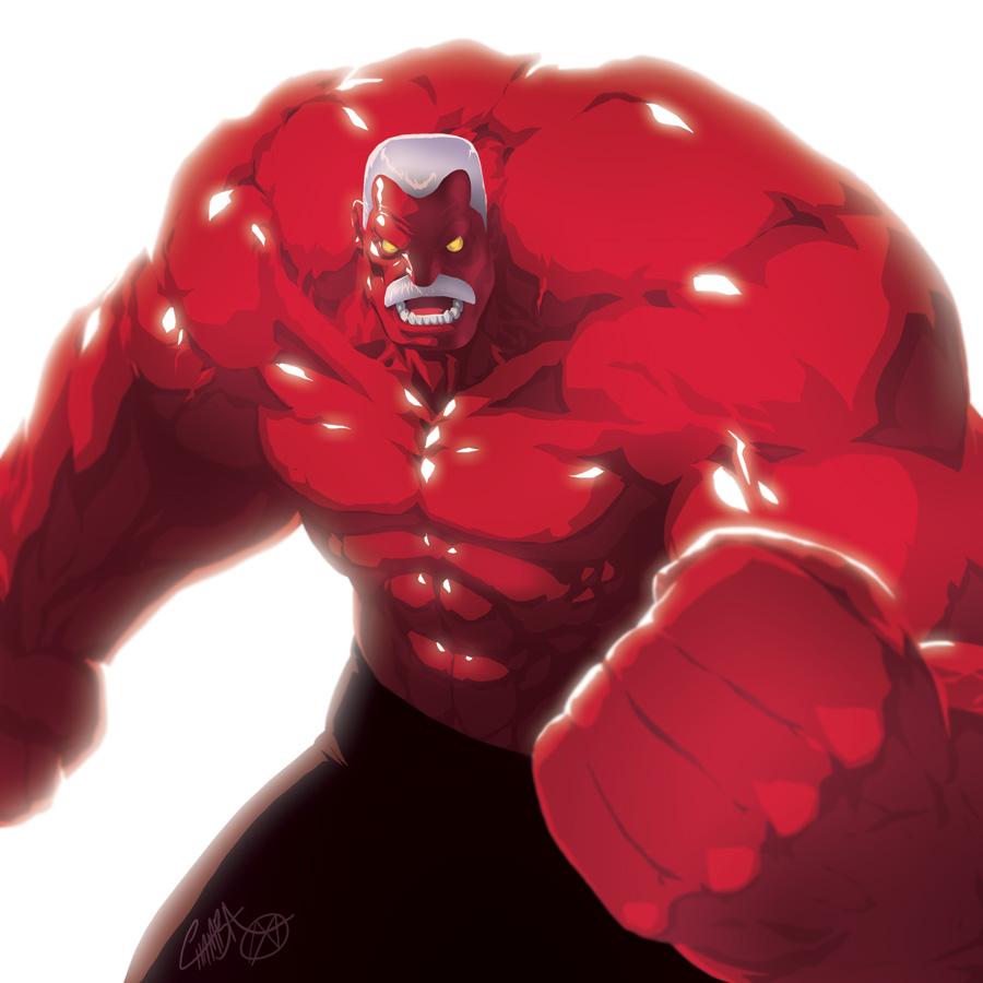 Thunderbolt Hulk by theCHAMBA