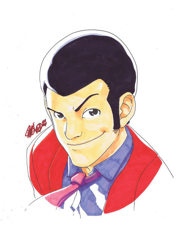 REWIND - Lupin III ConSketch by theCHAMBA