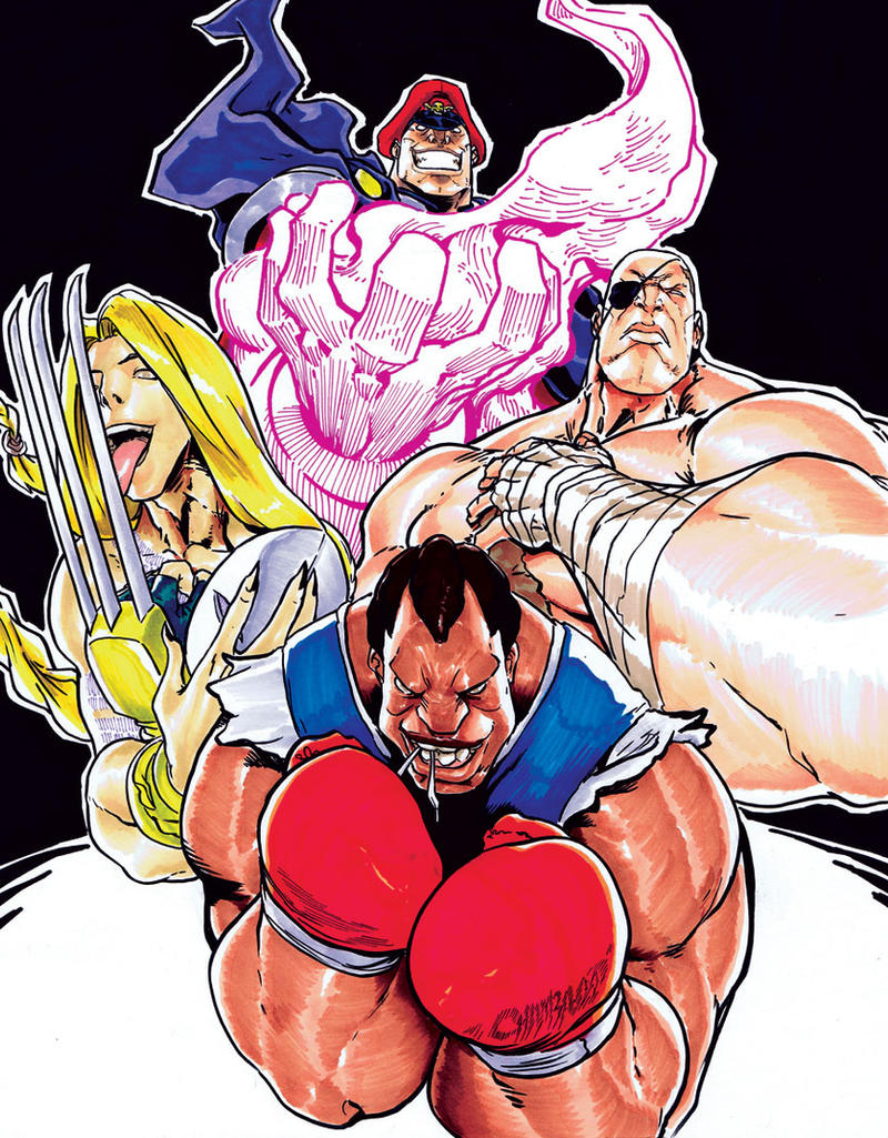 4 Emperors of Shadaloo