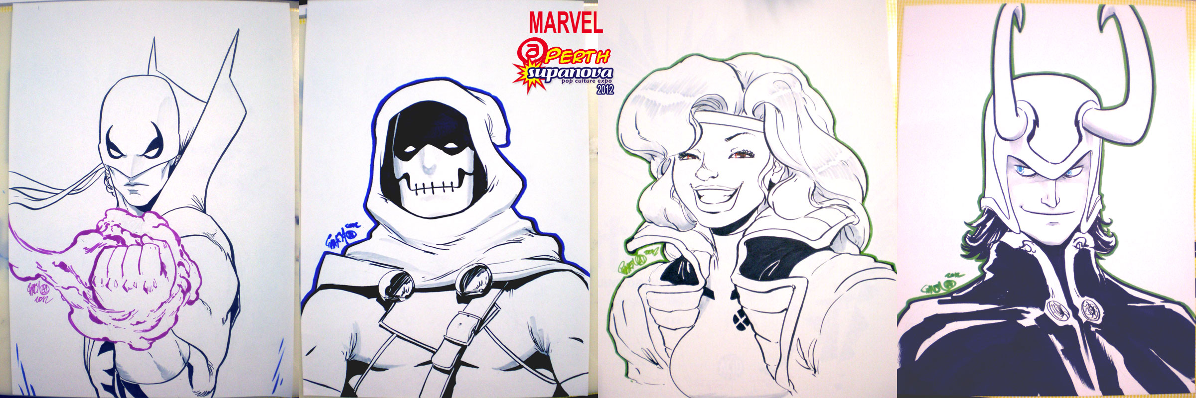 SuPERTHnova 2012 - MARVEL by theCHAMBA