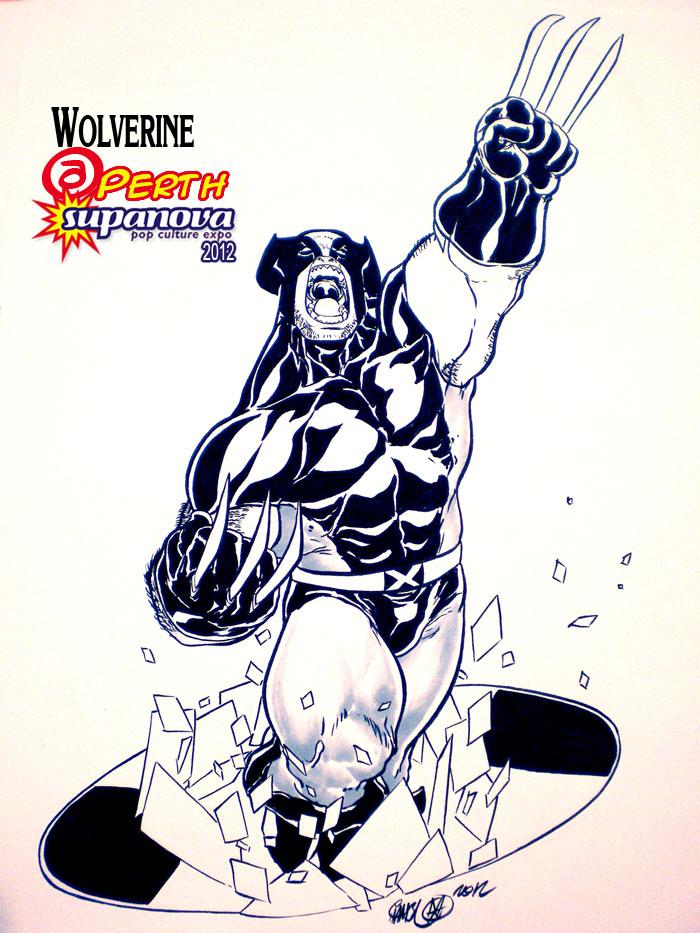SuPERTHnova 2012 - Wolverine by theCHAMBA