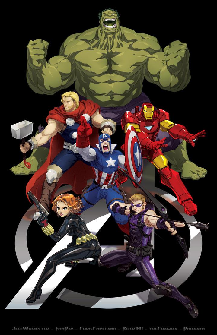 Avengers Jam by theCHAMBA