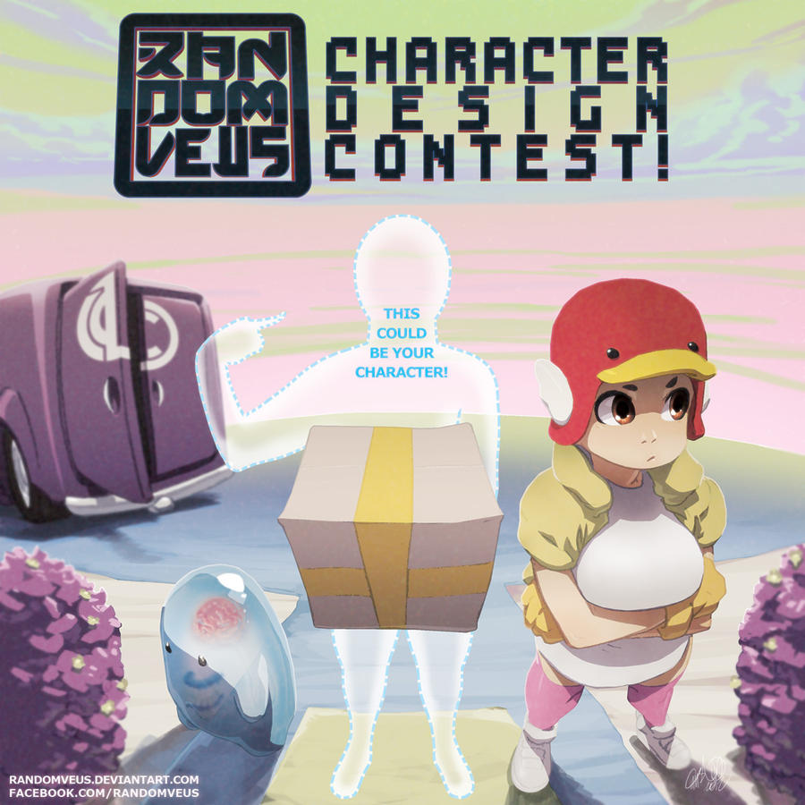 RandomVeus Character Design Contest by theCHAMBA