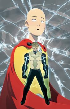 Cyborg Prince and Average Guy
