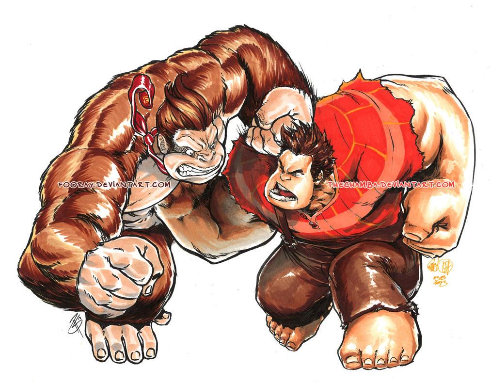 Kong VS Ralph by theCHAMBA
