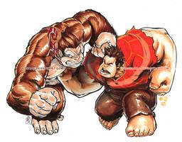 Kong VS Ralph
