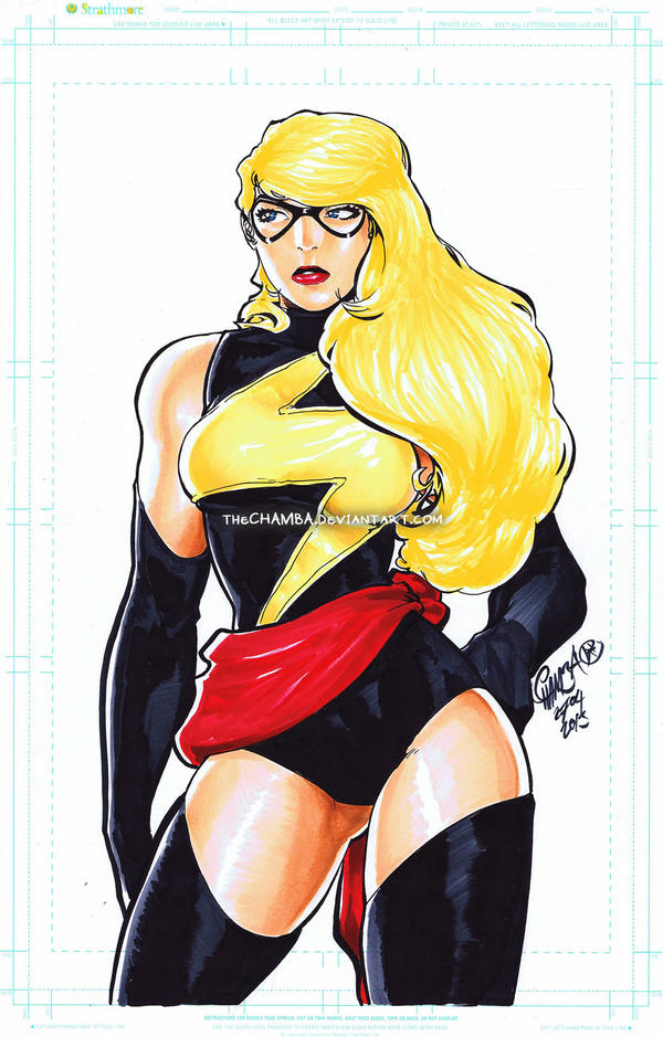 Ms. Marvel by theCHAMBA