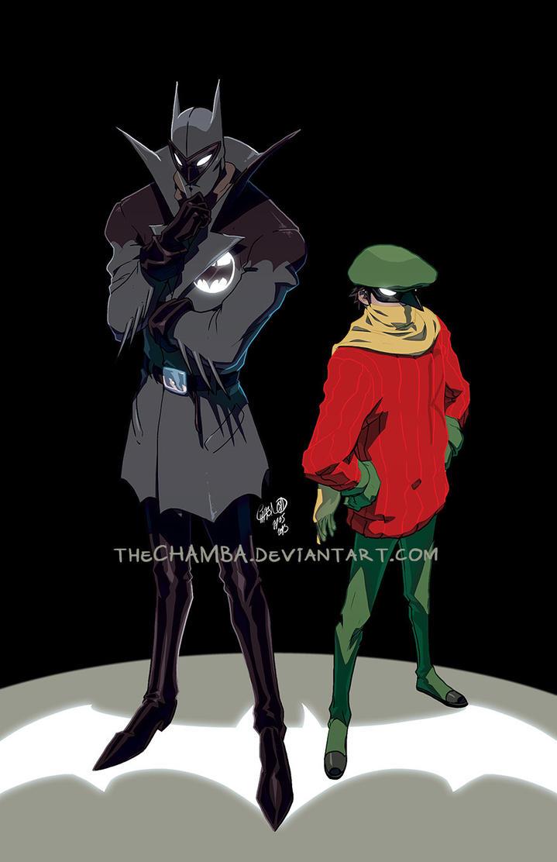 Detective and Sidekick by theCHAMBA