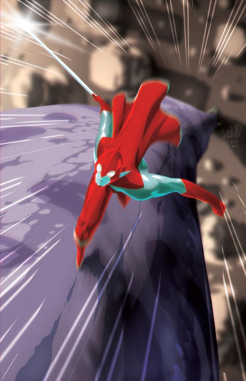 Toku VS Kaiju by theCHAMBA