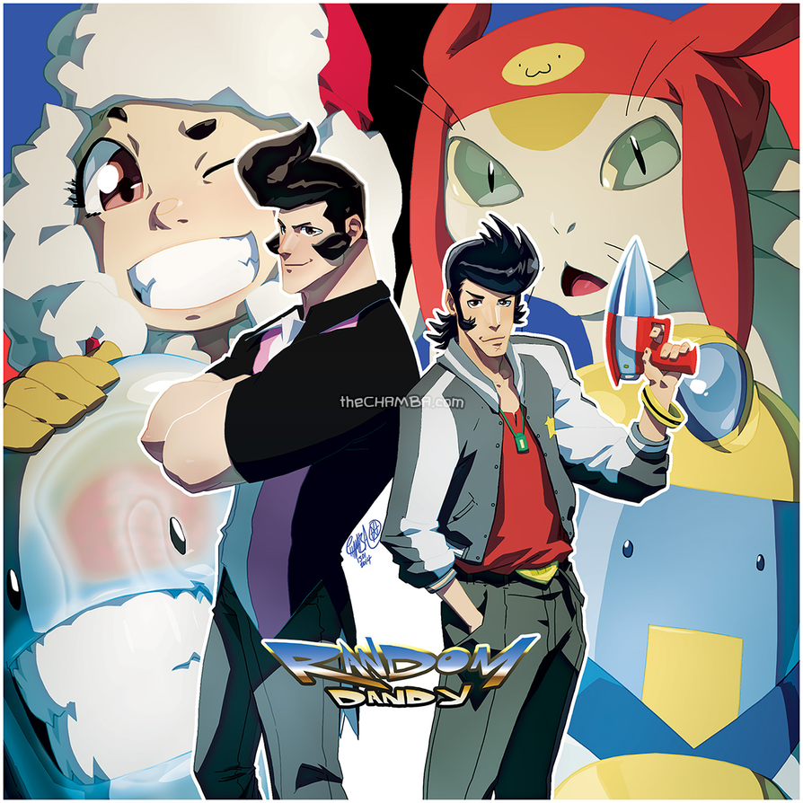 RandomVeus X SpaceDandy by theCHAMBA