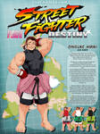 STREET FIGHTER DESTINY: Daisuke Hibiki