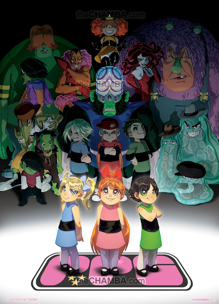 The Powerpuff Girls by theCHAMBA
