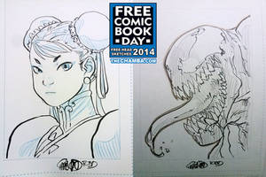 FCBD 2014 Sketches  17 - 18