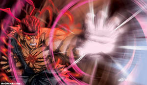 Arcade Stick Art ft. Evil Ryu