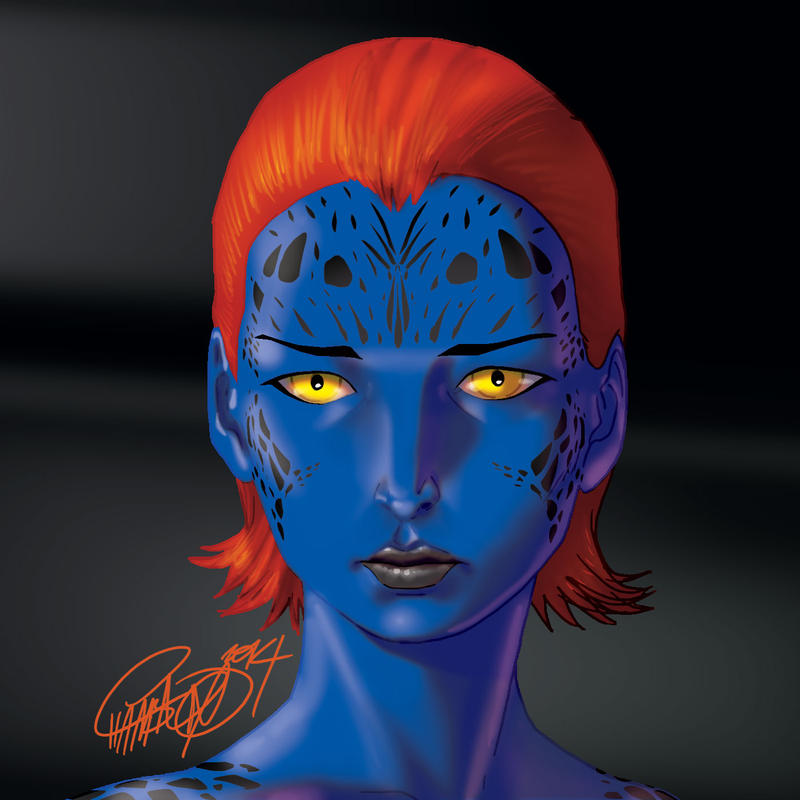 May Mucking about . Mystique by theCHAMBA