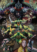 Teenage Mutant Ninja Turtles by theCHAMBA