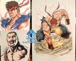 EVO 2014 - 01 - Evil Ryu x2 + Mike Haggar
