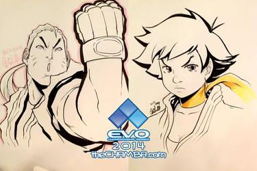 EVO 2014 - 04 - Dan + Makoto by theCHAMBA