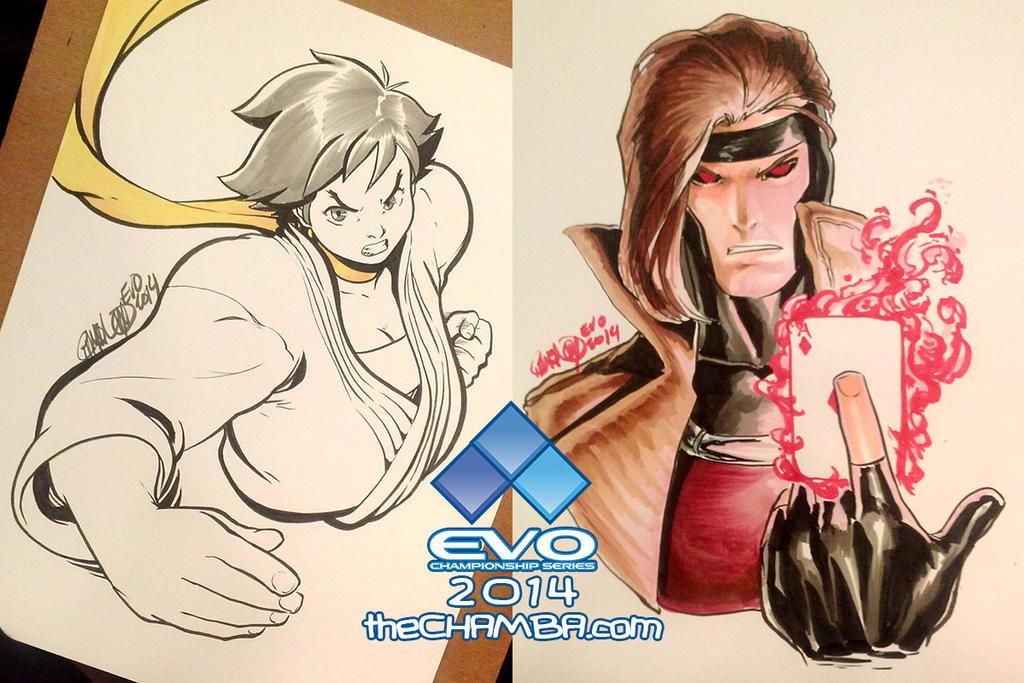 EVO 2014 - 06 - Makoto + Gambit by theCHAMBA