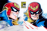 SDCC 05 - Captain Falcon x2