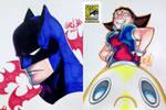 SDCC 07 - Batman and Tron Bonne