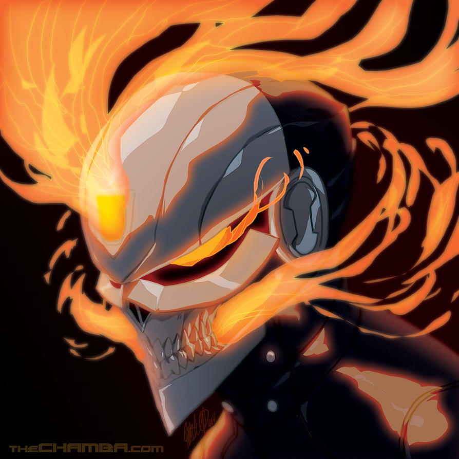 Ghost Rider + time lapse video link by theCHAMBA