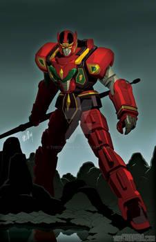 Red Dragon Thunderzord + video link