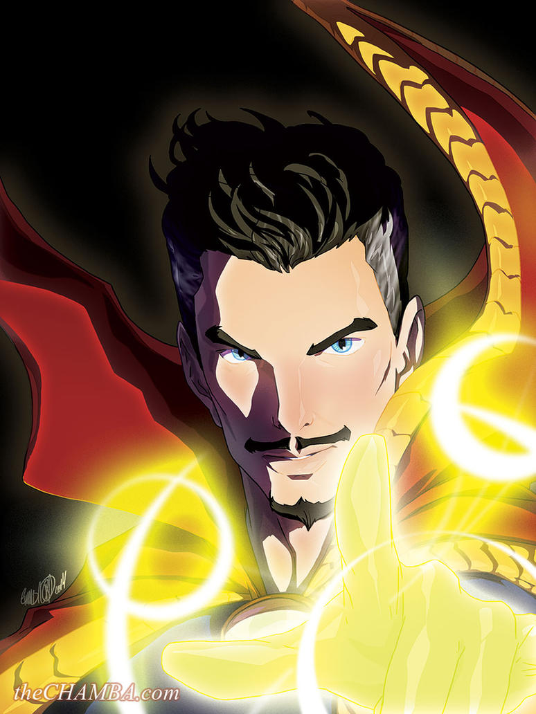 Dr. Strange + video link by theCHAMBA
