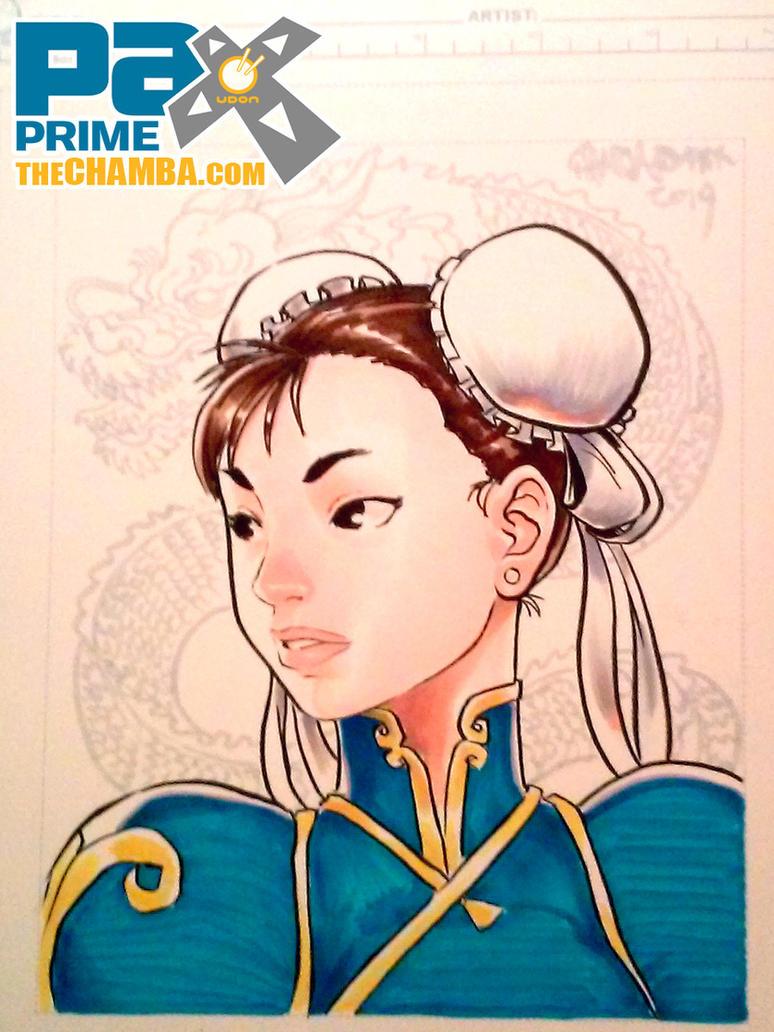 PAX2014 - Chun-li by theCHAMBA