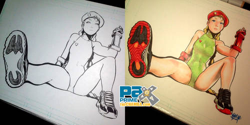 PAX2014 - Cammy wearing Jordan XI's