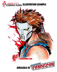 RoseCityComicCon2014 - Casey Jones by theCHAMBA