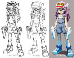 Parts of Arale Norimaki